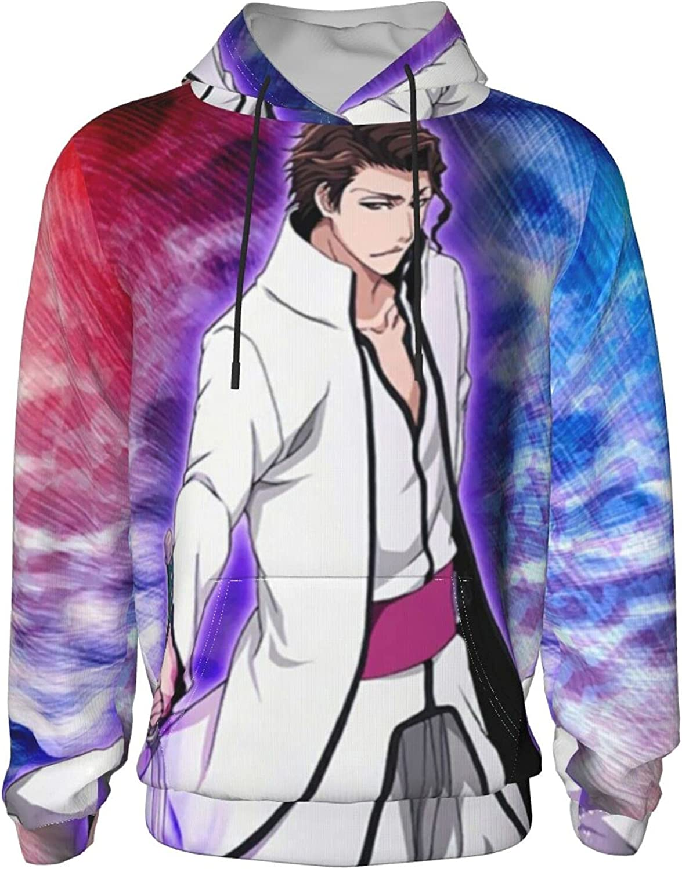 Japan ble-ach Sōsuke Aizen Anime Sweatshirt Very popular Hoodie NEW Boy Teens