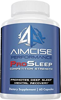 Aimcise ProSleep Mood Support, Insomnia Enhancer and Anxiety Relief Supplement. Natural Revatilizing Formula and Deep Slee...