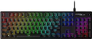 HyperX Alloy Origins RGB Mechanical Gaming Keyboard (Aqua Switch) - US Layout, Black