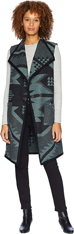Carly Long Wool Vest