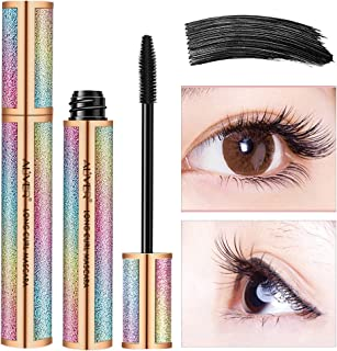 Waterproof Mascara, Natural 4D Silk Fiber Lash Mascara, Lengthening and Thick,..