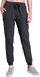 CAMEL CROWN Women's Jogger Pants with Pockets Soft Drawstring Sweatpants for Gym Running Jogging Lounging