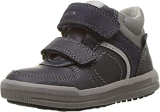 Geox J Arzach Boy B Hi-Top Trainers