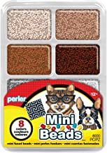 Perler Beads Neutral Color Mini Beads Tray For Kids Crafts, 8000 pcs