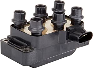 TUPARTS Pack of 1 Ignition Coil Fits for Ford Mustang/Ranger/Aerostar/Explorer/Explorer Sport/Explorer Sport Trac Mercury Mountaineer 1990-2011 Replacement for OE: FD480 5C1125