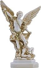 Saint St Michael Archangel Defeated Lucifer Greek Statue Sculpture Figure