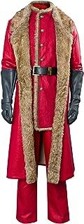 leather santa coat
