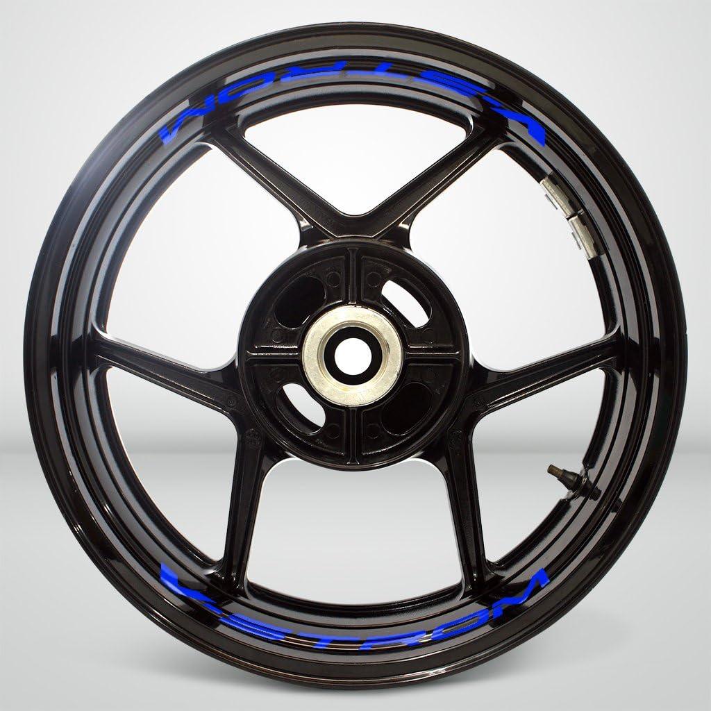 2 Tone Amethyst Motorrad Inner Rim Tape Decal Aufkleber f/ür Suzuki Vstrom