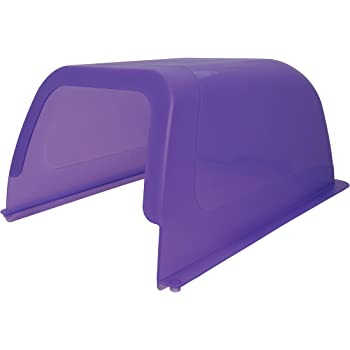 PetSafe ScoopFree Automatic Self Cleaning Litter Box Privacy Hood - Front Entry Cover - Compatible with ScoopFree Original Purple and Taupe Cat Litter Boxes - 2 Colors Available