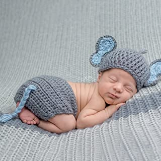Baby Hat Cap Winter Newborn Baby Cute Elephant Knit Crochet ... | 320x320