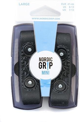 Nordic Grip Mini Hielo Pinzas para tracción sobre Nieve y Hielo (Unisex)