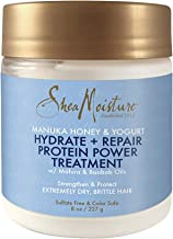 Shea Moisture Manuka Honey & Yogurt Hydrate Repair Protein-Strong Treatment, 8 oz