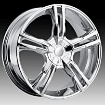 Pacer Ideal 16 Chrome Wheel / Rim 5x100 & 5x4.5 with a 42mm Offset and a 72.62 Hub Bore. Partnumber 786C-6718