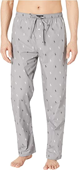 All Over Pony Print PJ Pants
