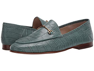 Sam Edelman Loraine Loafer (Blue Sage Splendor Croco Leather) Women