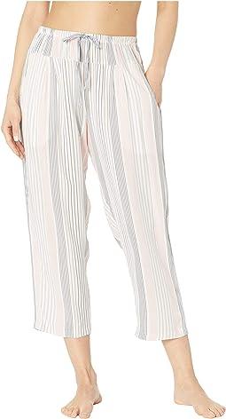 """24"""" Capri Pants Plain Weave"""
