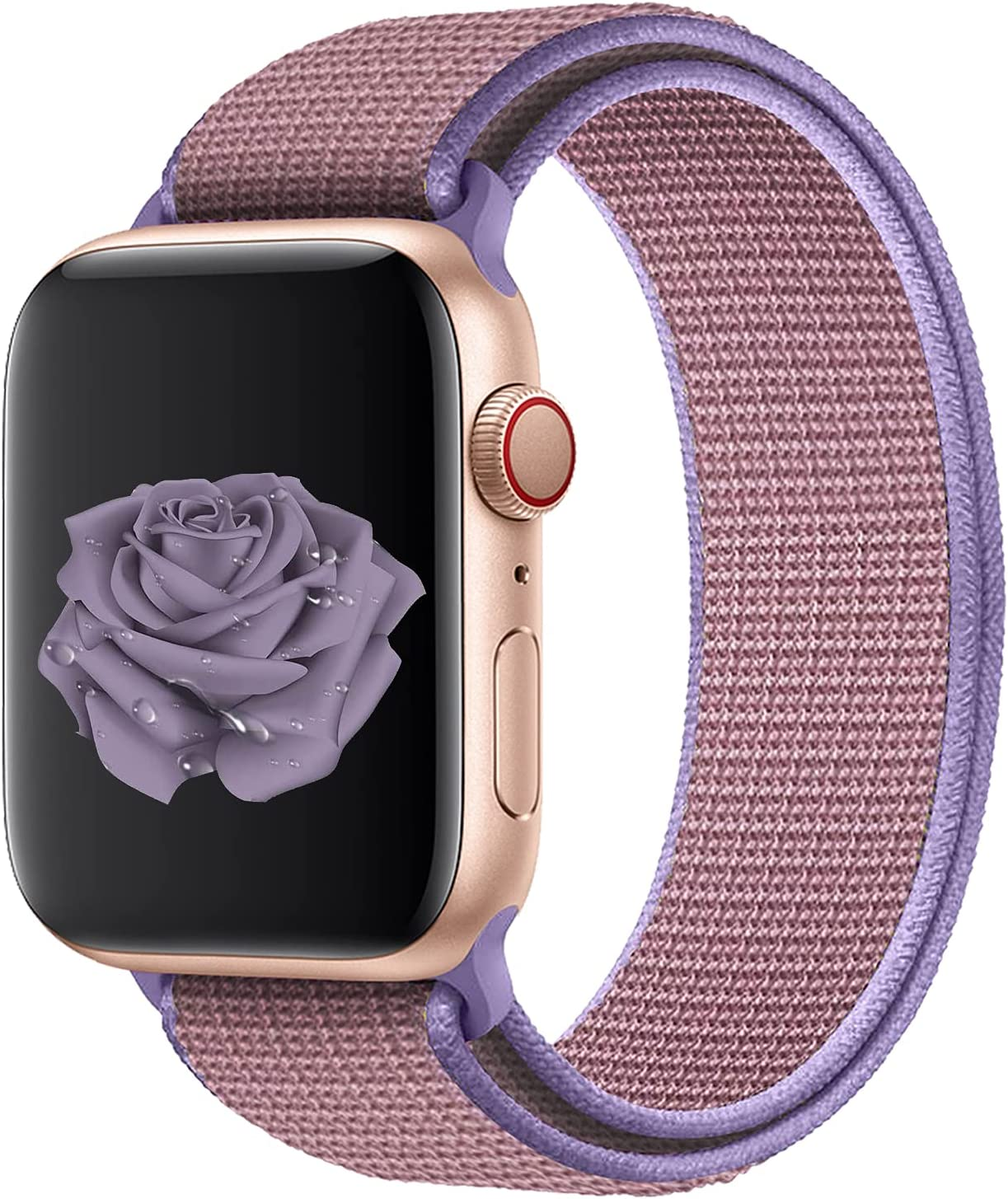 Watdpro Compatible with for Apple Watch Band 38mm 40mm 42mm 44mm, Soft Adjustable Lightweight Replacement Wristbands Compatible with for iWatch Series 6 5 4 3 2 1 SE