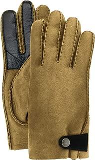 UGG Mens Sheepskin Glove With Leather Trim