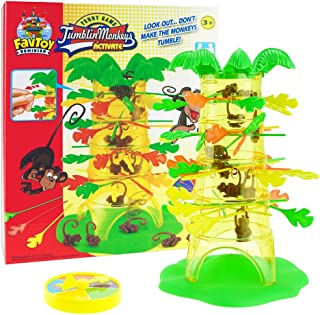 Favtoy Dominion - Falling Tumbling Monkey Challenging Monkeys Tumble Game Family Board Game