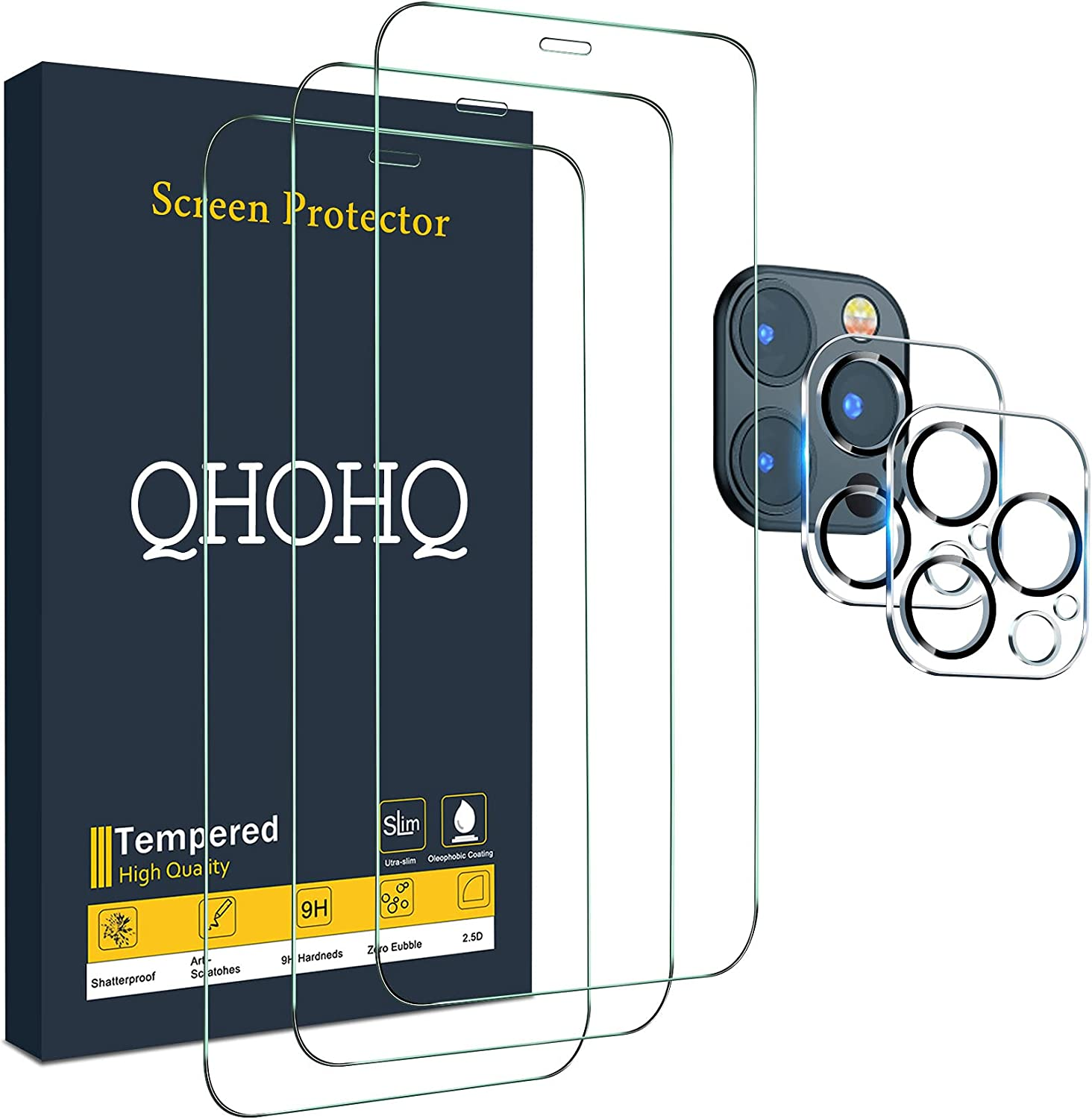 QHOHQ 3 Pack Screen Protector $9.34 Coupon