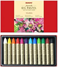 Mungyo Water-Soluble Oil Pastel Set of 12 - Assorted Colors