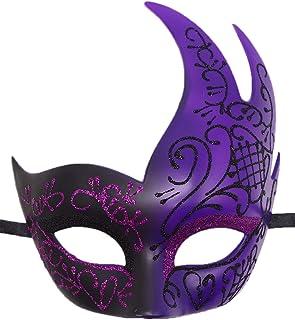 Biruil Men`s Masquerade Mask Venetian Muscial Mardi Gras Ball Fancy Costume Party Eyemask