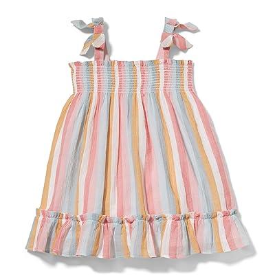 Janie and Jack Stripe Dress (Infant) (Multi) Girl