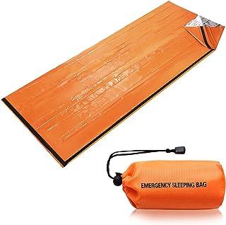 90%の体熱を保つ非常用簡易寝袋 1年保証 防水・防風・保温に役立つビヴィ Bivvy