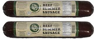 Beef Summer Sausage 1lb each (2 rolls)