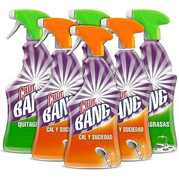 Cillit Bang - Spray Limpiador Suciedad y Manchas de Humedad, para baños y juntas negras - 750 ml (3040445): Amazon.es: Salud y cuidado personal