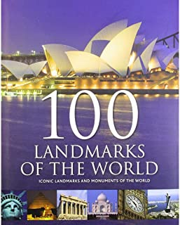 100 Landmarks of the World by Beverley Jollands and Paul Fisher - Hardcover