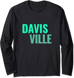 Davisville Toronto Neighbourhoods Long Sleeve T-Shirt