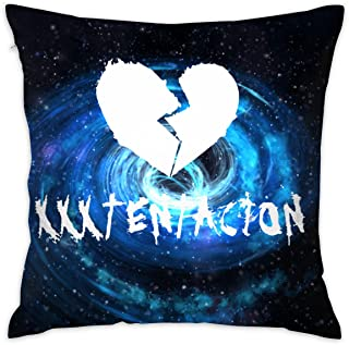 a24953e9517 Cotton Sad_XXX_Tentacion Pillow Cases 20x20 (in) Square Throw Decorative  Pillowcases Cushion Covers Set Shell