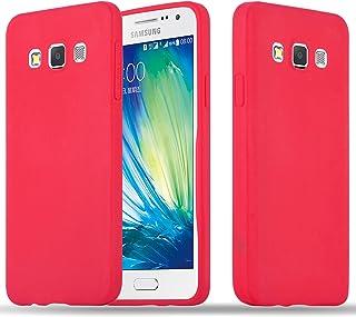 8cc04efb0cf Cadorabo Funda para Samsung Galaxy A3 2015 en Candy Rojo – Cubierta  Proteccíon de Silicona TPU