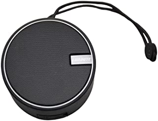 LUNA UTE スピーカー Bluetooth ブルートゥース 防水 防塵 IP67 ワイヤレス アウトドア キャンプ ポータブル ハンズフリー会話 (ブラック)