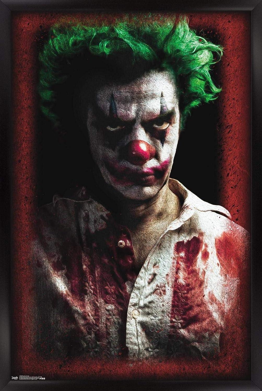 Trends International Psycho Clown Wall Max 42% OFF x Ranking TOP9 22.375