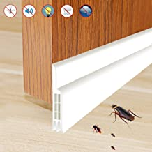 9x6mm, Braun Selbstklebende Fensterdichtungen T/ürdichtung Dichtungsstreifen Zugluftstopper Gegen Insekt Wetterfest Blocker Schalldichtung
