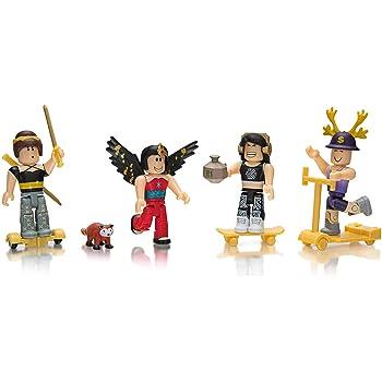 Amazon Com Roblox Celebrity Collection Juego De Cuatro Figuras