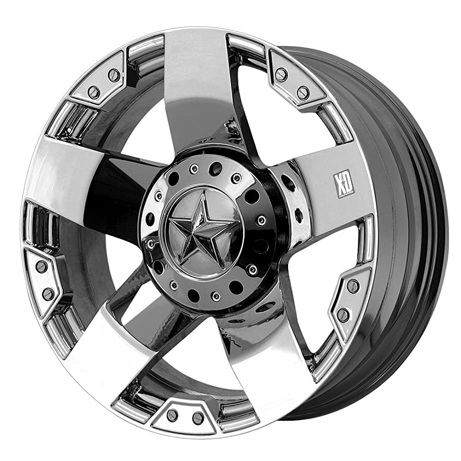 XD Series by KMC Wheels XD775 Rockstar Triple Chrome Plated Wheel (17x8