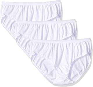 Shadowline Women's Plus-Size Cotton Hipster Panty 3-Pack,