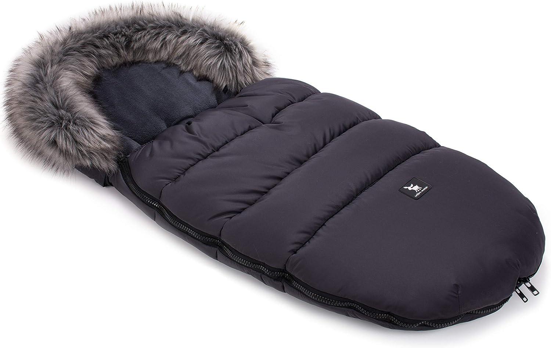 Saco de dormir Cottonmoose Footmuff Moose para cochecito de beb/é 100 x 50 cm veh/ículo deportivo o trineo