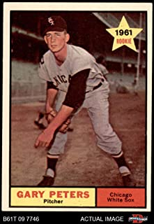1961 Topps # 303 Gary Peters Chicago White Sox (Baseball Card) Dean`s Cards 5 - EX White Sox