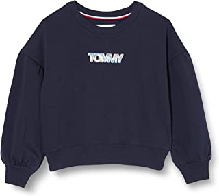 Tommy Hilfiger Iridescent Badge Crew Sweatshirt Maglione Donna