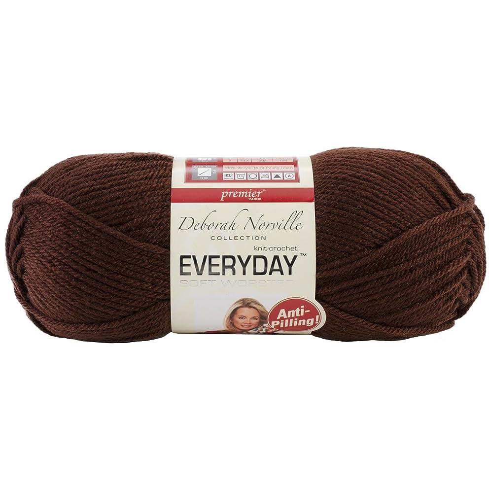 Premier Yarns Deborah Norville Collection Everyday Solid Yarn-Chocolate
