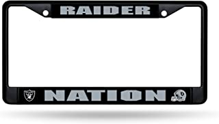Rico Industries Raiders Nation Black Metal Frame