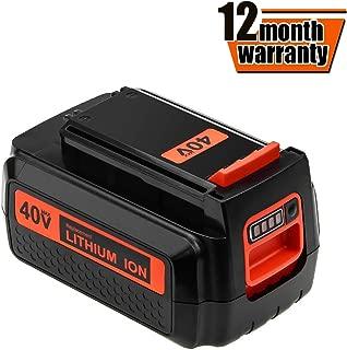 40V 3000mAh Li-ion Replacement Battery for Black and Decker LBXR36 LBXR2036 LBX1540 LBX2040 LBX2540 LBX36