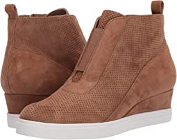 Tan Perf Kid Suede