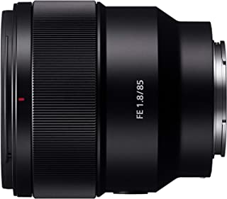 Sony Full Frame E-Mount SEL85F18 Lens,Black