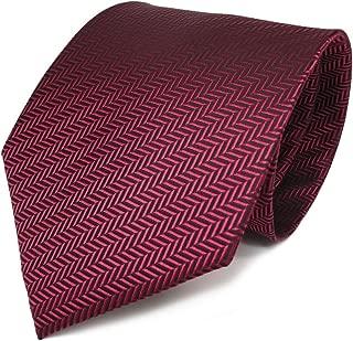 Designer Krawatte in gestreift gemustert