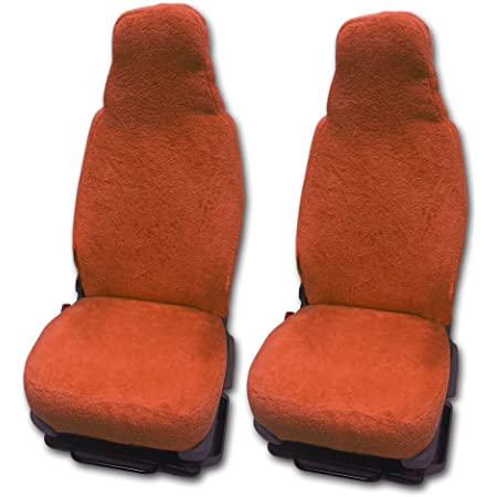 Rau Universal Sitzbezuge Schonbezüge Aus 100 Frottee Farbe Terracotta Für Pilotsitze Und Wohnmobile Auto
